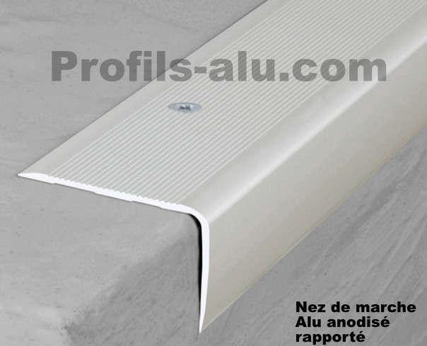 nez de marche a carreler comment installer un profil pour. Black Bedroom Furniture Sets. Home Design Ideas