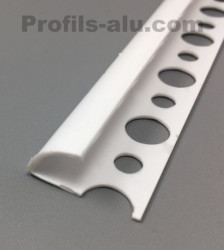 2.Profilé Bord Arrondi PVC Ouvert