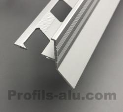 Profilé Terrasse Goutte d'eau Alu Anodisé 12 mm