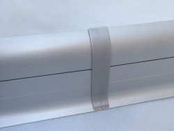 Finition Plinthe Passe cable en PVC