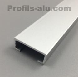 Profilé listel 20mm Alu Anodisé