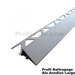 Profil de Rattrapage de Niveau Large Alu Anodisé