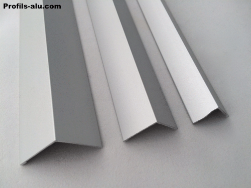Corniere angle de protection alu anodise for Protection angle mur