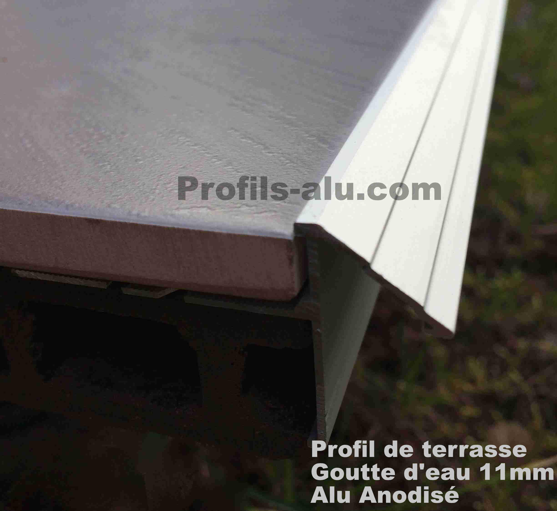 profile pour terrasse et balcon goutte d eau